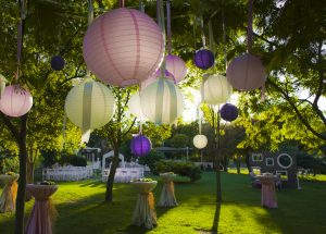 wedding-colorful-light-balls