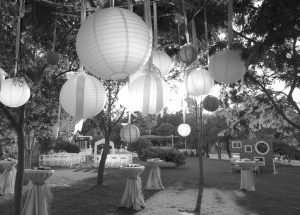 wedding-colorful-light-balls-bw