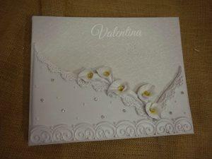 Βιβλίο Ευχών Γάμου Valentina - Ιωάννινα