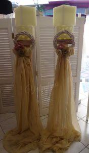 Λαμπάδες Γάμου Φωτιστικά - Κηροπήγια