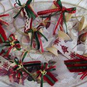 Χριστουγεννιάτικες μπομπονιέρες κουβαρίστρες Valentina