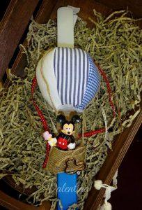 Πασχαλινή Λαμπάδα αερόστατο με τον Mickey Mouse!