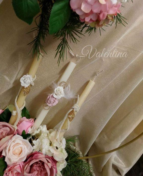 Πασχαλινές λαμπάδεςμε λουλούδια! #πασχαλινη_λαμπαδα #λαμπαδες #λουλουδια #flowers #handmadebyvalentina #valentinaioannina #ioannina